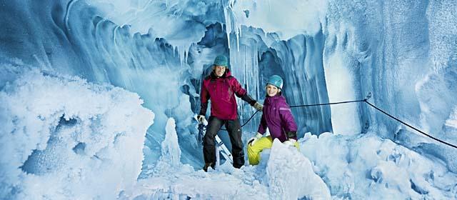 Eispalast Hintertuxer Gletscher im Zillertal