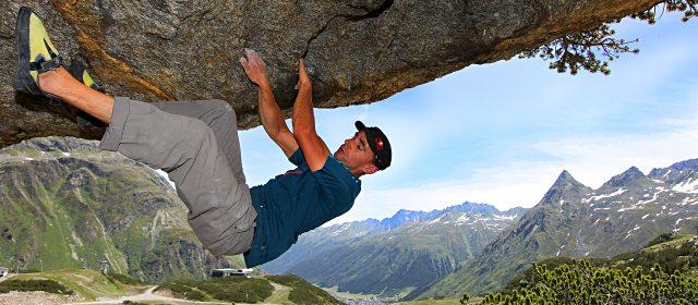 Klettern und Bouldern in Galtür