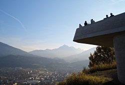 Ausblick über Innsbruck