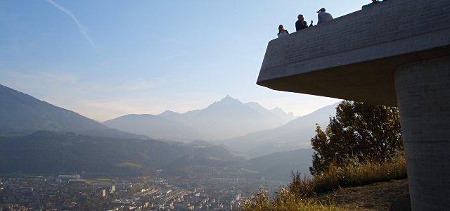 Herrlicher Ausblick über Innsbruck