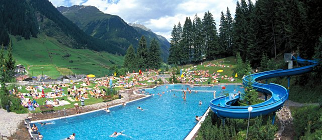 Waldbad Silvretta in Ischgl