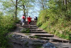 Kaisertreppe - 300 Stufen ins Kaisertal