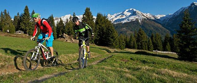 Radtour in Kappl und See