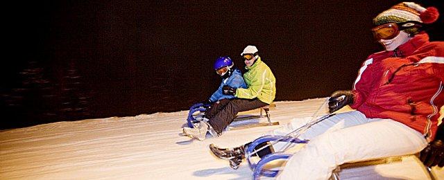 Rodelbahn Skigebiet Kitzbühel