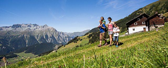 Wandern mit den Bergbahnen Nauders