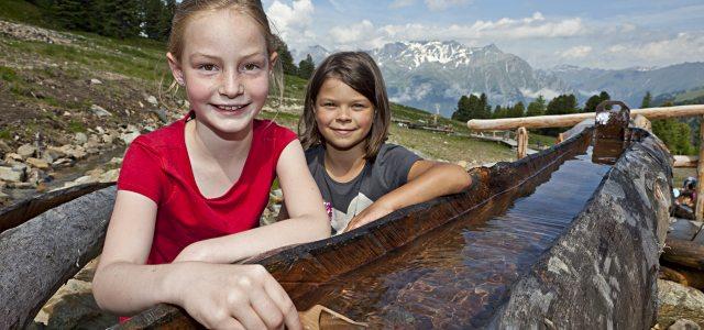 Goldwasser, Bergbahnen Nauders