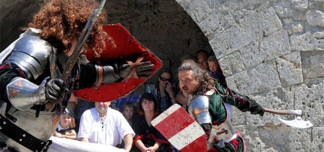 Ritterfest auf der Festung Kufstein
