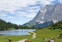 Seebensee mit Zugspitze