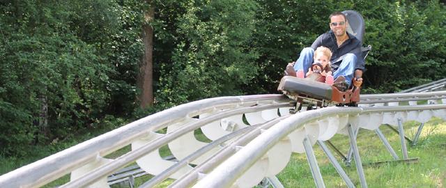 Familien Coaster Schneisenfeger / Bergerlebnispark Högsee