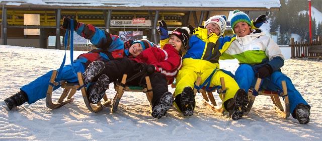 Hexenritt bei Söll in der SkiWelt Wilder Kaiser - Brixental