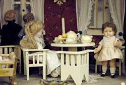 Puppenstube im Puppenmuseum Blons