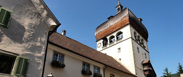 Martinsturm in Bregenz bei Tag