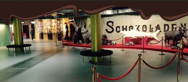 Impressionen aus der Austellung im Chocolate Museum Vienna