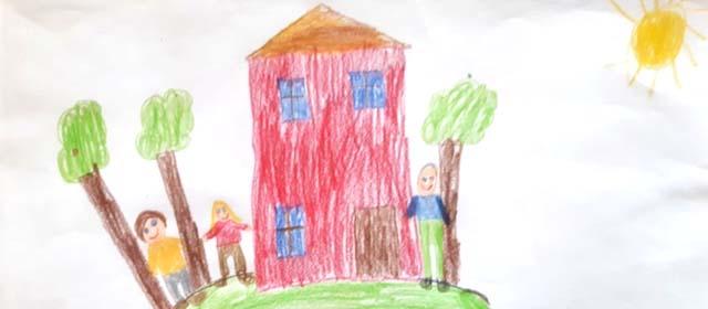 Zeichnung aus dem GroKi-Haus