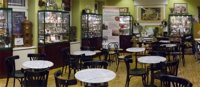 Im Kaffeemuseum in Wien
