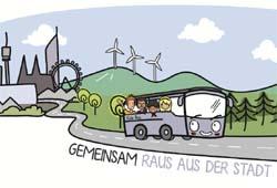 Mit dem Kidsbus ins Grüne