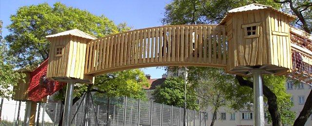 Spielplatz Bacherpark Wien