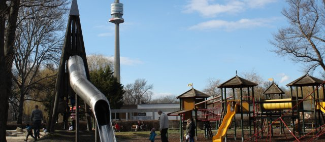 Spielplatz in Wien
