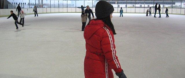 Eishalle der Wiener Stadthalle