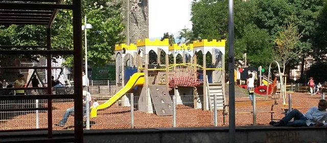 Spielplatz im Wiener Esterhazypark