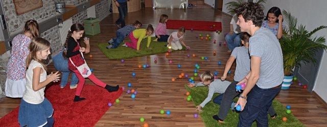 Kindergeburtstag bei Hello Kids - family events in Wien