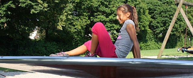 Spielplatz im Miep Gies Park in Wien