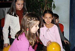 Bowling beim Kindergeburtag in Wien