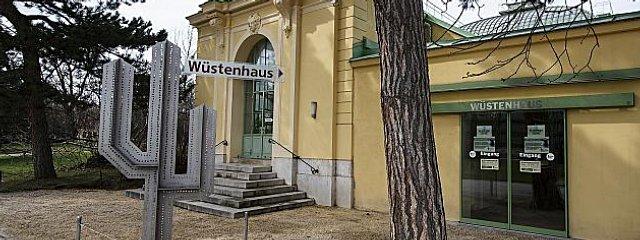 Wüstenhaus Schönbrunn in Wien